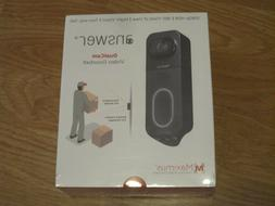 Maximus - Answer DualCam Smart Wi-Fi Video Doorbell - Wired