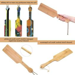 Bamboo Paddle, 14.2Inch Light Weight And Super Durable With
