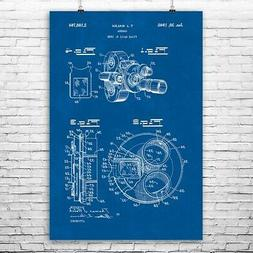 Bell & Howell Movie Camera Poster Print Hollywood Decor Came