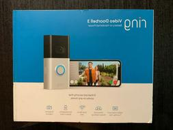 Ring Doorbell 3 1080p HD Video Wifi w/ Night Vision Security