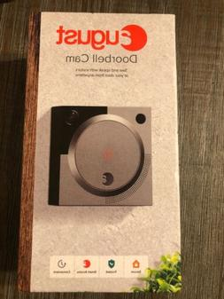 August Doorbell Camera Cam Silver AUG-AB01-M01-S01 New Free