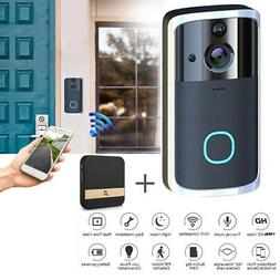 FHD 1080P Wireless Video Doorbell Camera Chime Security Nigh