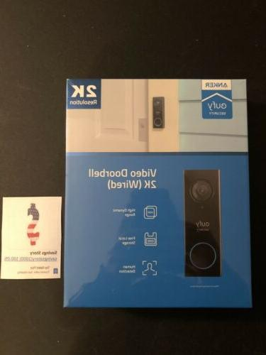 security wi fi video doorbell with 2k