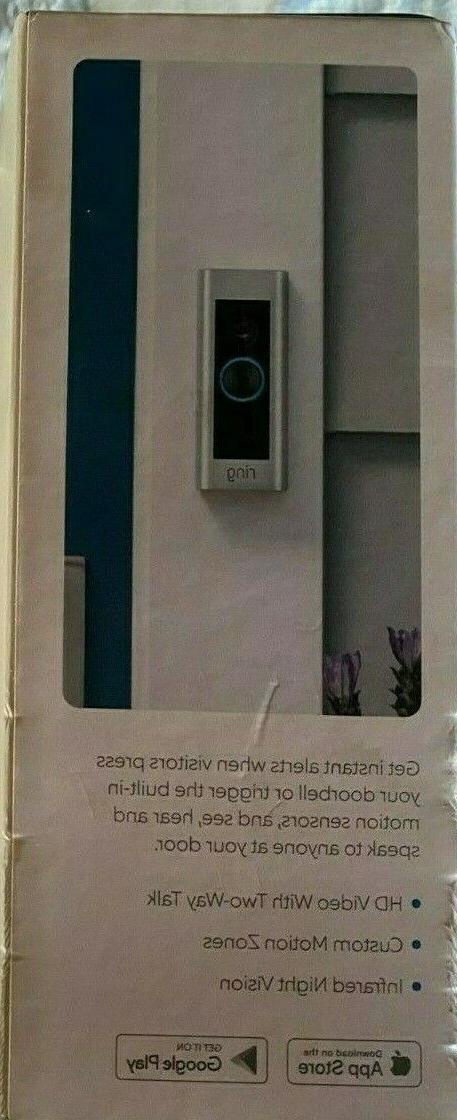 Ring Video Doorbell Pro 1080P Wi-Fi Smart Camera
