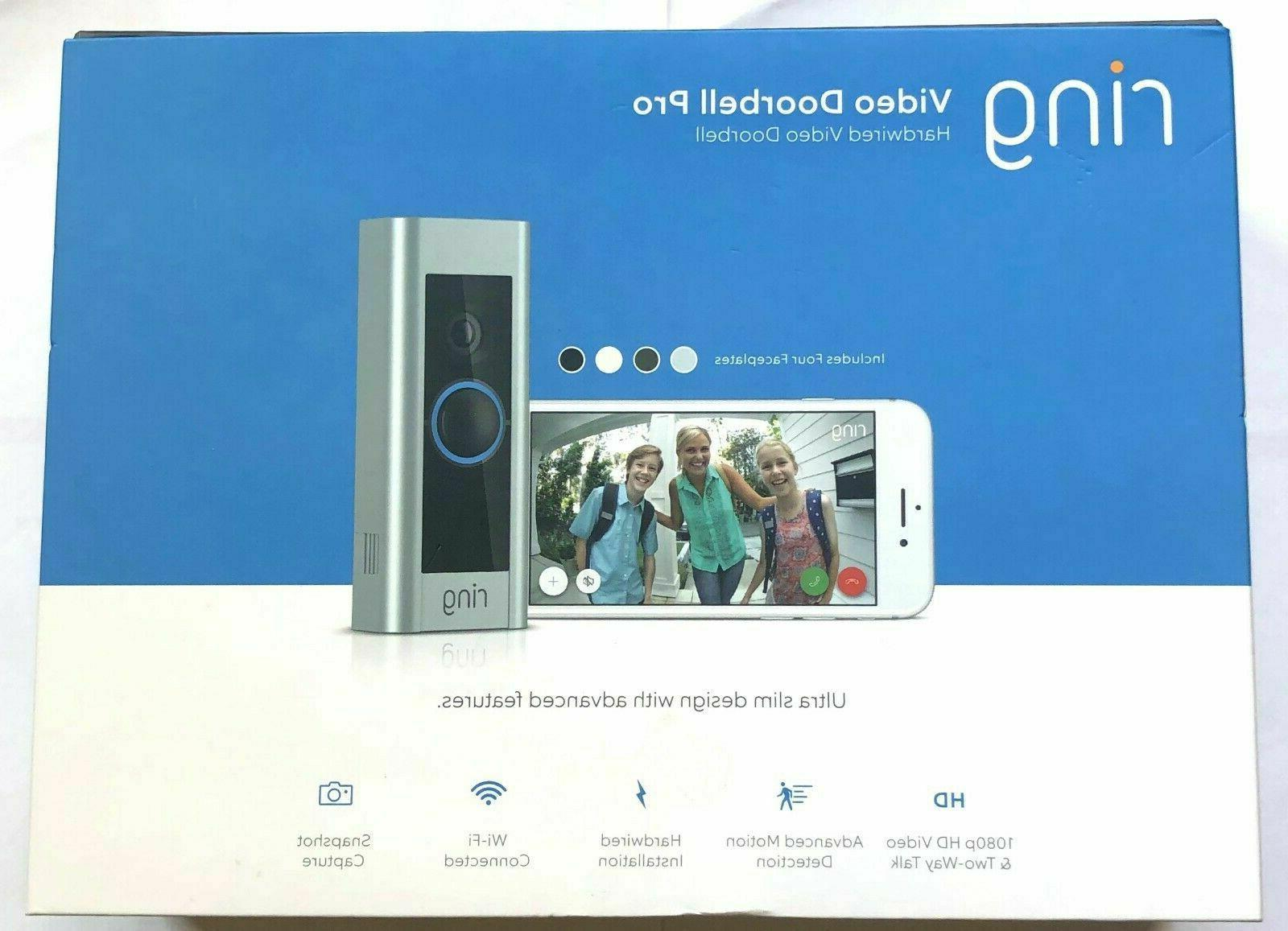 video doorbell pro 1080p wi fi hard