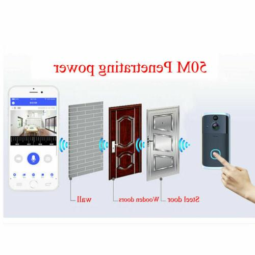 Wireless WiFi Video Smart Door Intercom Security