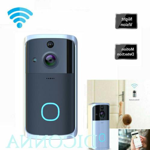 Wireless Intercom Security Camera Bell