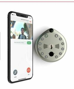 Gate Labs WiFi, Home Security Smart Lock with Built-In Camer