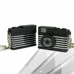 New Mini Toy Camera Keychain With Bell Pendant Bag Accessori