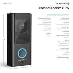 New Sealed Amcrest Doorbell Camera Wired Video 1080P WiFi w/
