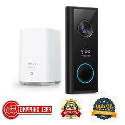 eufy Security Wireless Video Doorbell Battery-Powered with 2
