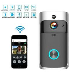 Smart Wireless WiFi DoorBell Smart Video Phone Door Visual I