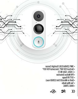 Ultra HD, Smart, Wi-Fi Doorbell Camera with Installation in