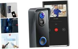 Victure Smart Video Doorbell Camera 1080P HD, 2.4 GHz Wi-Fi
