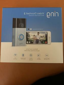 Ring Video Doorbell 2 Wi-Fi 1080p HD Camera with Motion Sens