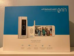 Ring Video Doorbell Pro with Chime Bundle NEW FACTORY SEALED