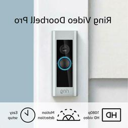 Ring Video Doorbell Pro, with HD Video, Motion Activated Ale