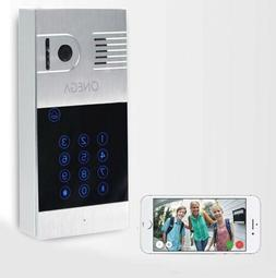 ONEGA Video Doorbell Ring Wi-Fi Enabled Security Camera NOB