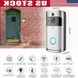 WiFi Doorbell Smart Phone Video Door Ring Intercom Security