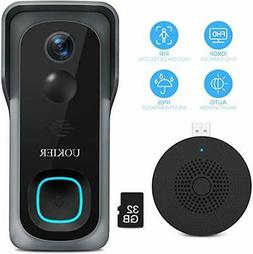 Doorbell Camera security enabled WiFi Video 1080P Wide Angle