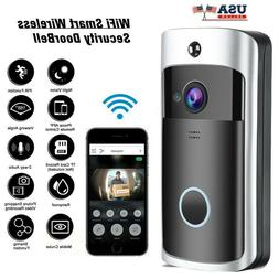 Wireless Smart WiFi Video Doorbell Phone Door Ring Intercom