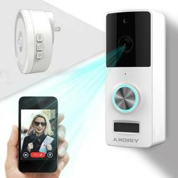 Wireless Video Doorbell, Camera, IP55 Waterproof HD 720P Sec