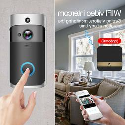 Wireless WiFi Doorbell Smart Phone Home Video Ring Intercom