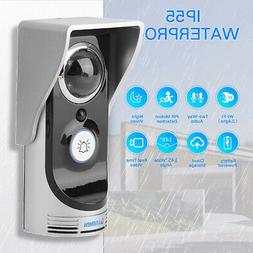 Wireless WiFi Video Doorbell 720P Smart Door Ring Intercom S