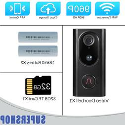 Wireless WiFi Video Doorbell APP Control Home Bell Security