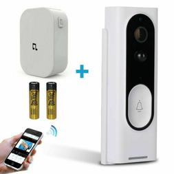 Wireless WiFi Video Doorbell Smart Door Intercom Security Ca