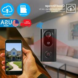 Wireless WiFi Video Doorbell Smart Phone Intercom Video Secu