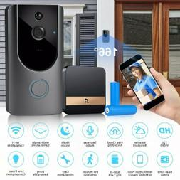 Wireless Wifi Video Doorbell Smart PIR Security Camera Door