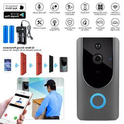 Wireless WiFi Video Doorbell Smart Ring Video Door Intercom